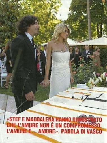 Matrimonio Simbolico Chi Lo Celebra : Le foto esclusive del matrimonio di maddalena corvaglia e