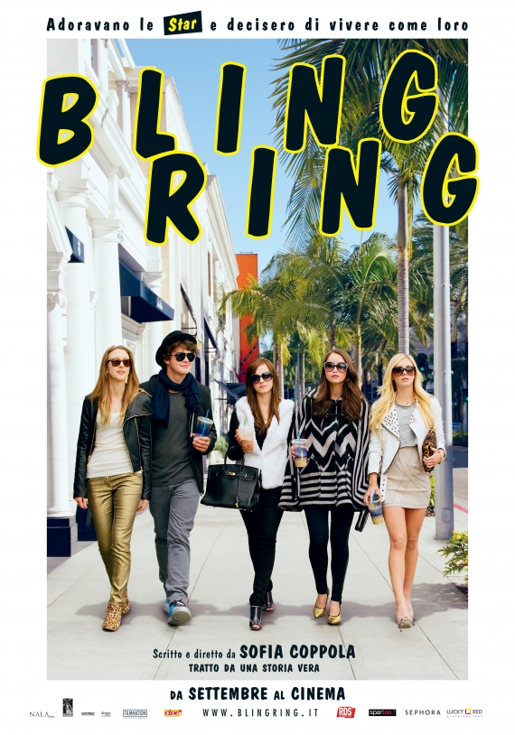 the bling ring, sofia coppola, emma watson, israel broussard, katie chang, taissa farmiga, claire julien, leslie mann