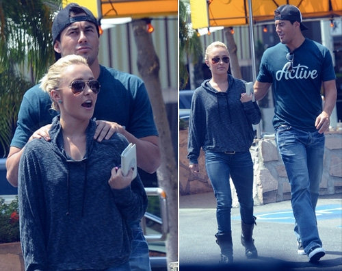 Hayden Panettiere va a pranzo con Scotty McKnight