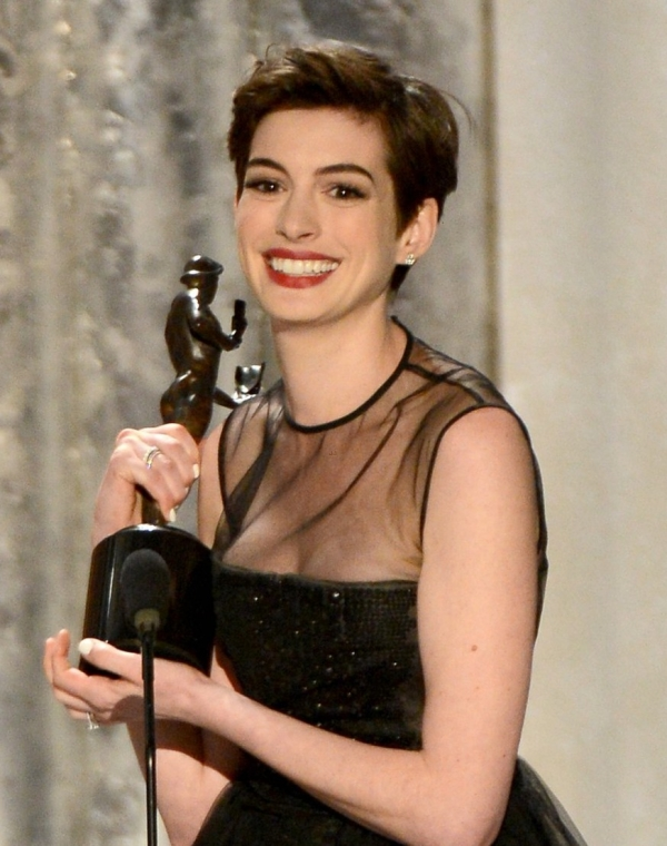 sag awards 2013, anne hathaway, jennifer lawrence, hugh jackman, vincitori