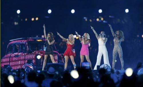 spice girls, olimpiadi londra 2012, girl power, di nuovo insieme spice girls