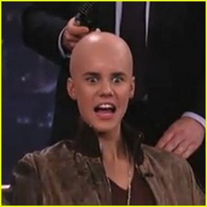 Justin Bieber si è rasato a zero! 9b0a9c606527