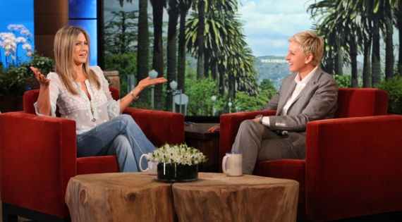 ellen degeneres, jennifer aniston, friends, reunion friends, matthew perry, elmore leonard