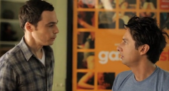 zach braff, donald faison, jim parsons, wish i was here, kickstarter, crowdfunding