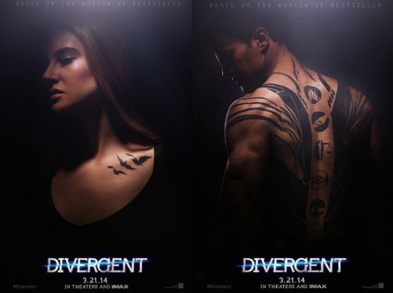 divergent, veronica roth, shailene woodley, kate winslet, ashley judd, trailer, poster