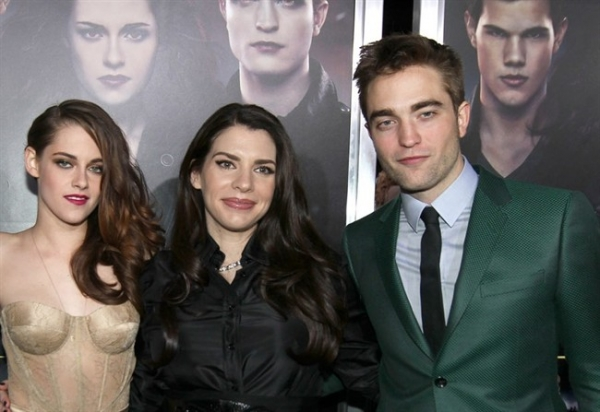 stephenie meyer, robert pattinson, kristen stewart, twilight