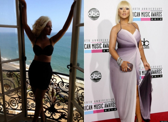 christina aguilera, dieta star, the voice