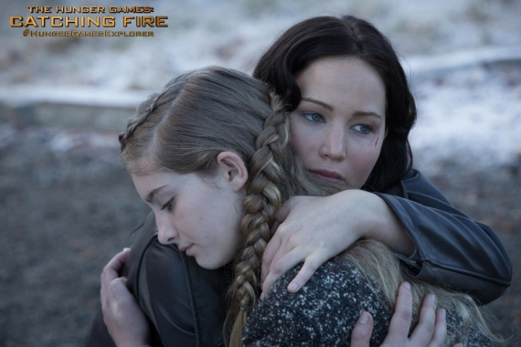 jennifer lawrence,josh hutcherson, liam hemsworth, hunger games, catching fire, la ragazza di fuoco, trailer