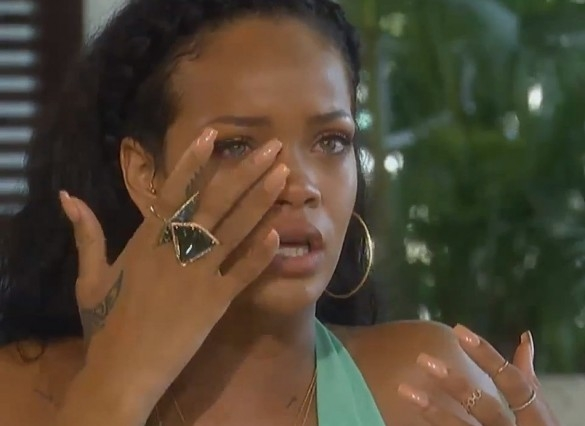 rihanna, oprah, next chapter, chris brown, rihanna ama chris brown, violenza domestica chris brown
