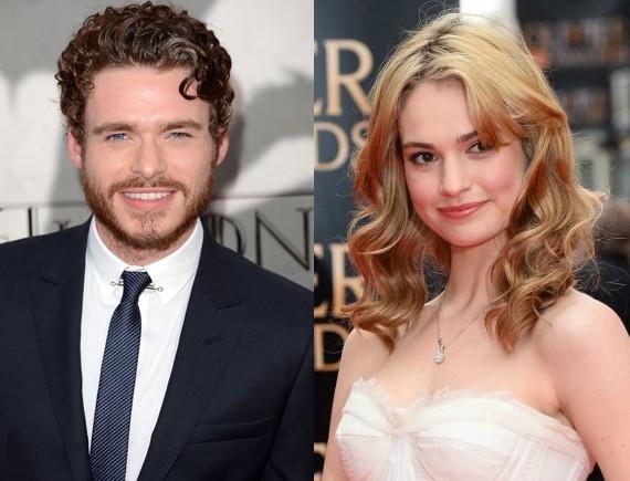 Richard Madden sarà il Principe Azzuro di Lily James!
