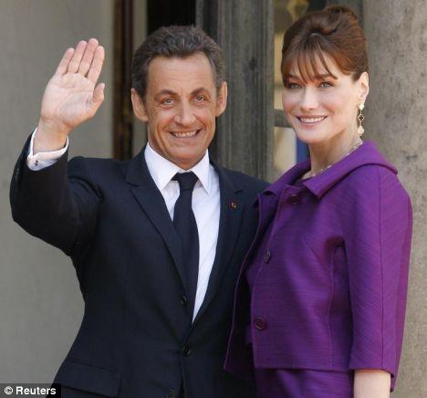 E' nata la bimba di Carla Bruni e di Nicolas Sarkozy!
