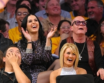 katy perry, russell brand, padre katy perry, keith hudson, lakers, katy perry russell brand, ex