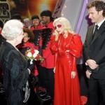 gaga meet the queen