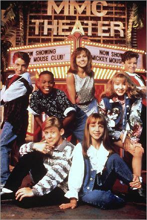 Britney e Christina al Mickey Mouse Club