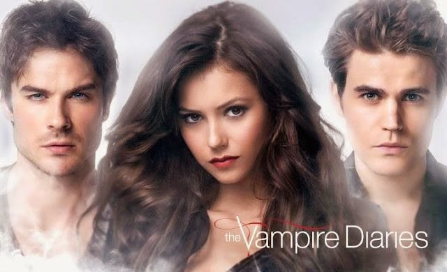 the vampire diaries trio