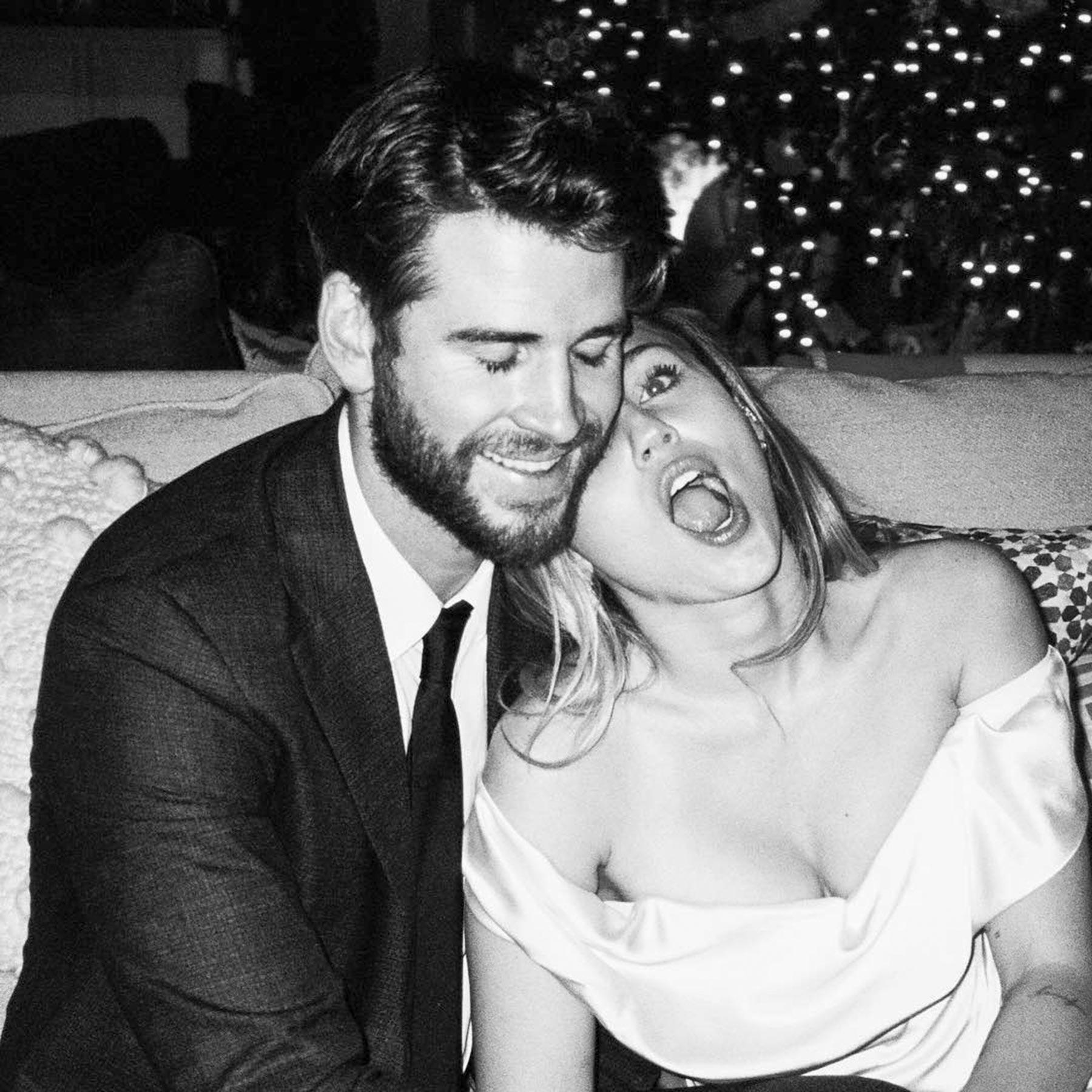https://www.instagram.com/p/Bt4EhjFhJZD/ Miley Cyrus and Liam Hemsworth Wedding CR: Miley Cyrus/Instagram