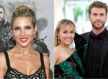 elsa pataky miley cyrus liam hemsworth