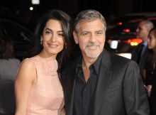 Oct. 26, 2015 - Hollywood, California, U.S. - Amal Alamuddin Clooney, George Clooney attending the Los Angeles Premiere of ''Our Brand Is Crisis'' held at the TCL Chinese Theatre in Hollywood, California on October 26, 2015. 2015. Prima del film 'Our Brand Is Crisis' ZumaPressLaPresse  -- Only Italy