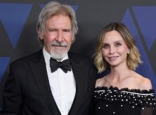 HOLLYWOOD, CA - NOVEMBER 18:  Harrison Ford and Calista Flockhart attend the Academy of Motion Picture Arts and Sciences' 10th annual Governors Awards at The Ray Dolby Ballroom at Hollywood & Highland Center on November 18, 2018 in Hollywood, California.  (Photo by Steve Granitz/WireImage)